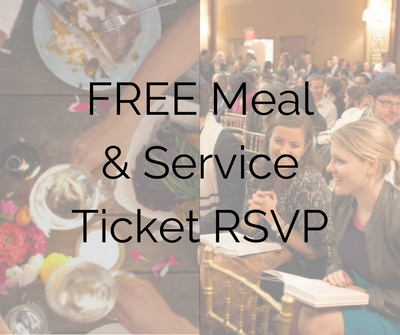 Want to save your spot at the table for our various holiday meals, or put your name on a ticket list for local service options across the city? See FREE Meal & Service Tickets RSVP.